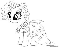Print Princess Rarity My Little Pony