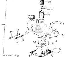 16100 053 305 carburetor assy ct90 trail 90 k0 1966 usa ct90 trail 90 k0 1966 usa