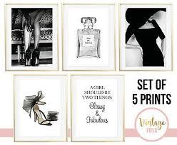 set of 5 prints classy fabulous