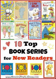 10 book series collections perfect for new readers with simple text that offers confidence building