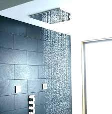 installing a rain shower rain shower head height installation install a rain shower head