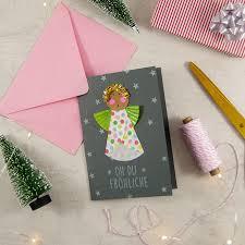 Diy Muffinform Engel Weihnachtskarte Und Christbaumschmuck
