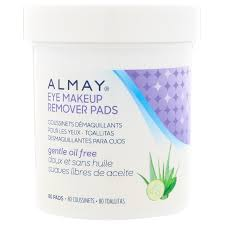 almay eye makeup remover pads gentle oil free 80 pads discontinued item