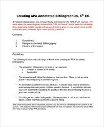 apa format annotated bibliography sample   Annotated bibliography LibGuides   The University of Akron For