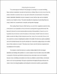 birds essay protecting the environment the central argument  this preview has intentionally blurred sections sign up to view the full version