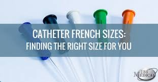 Catheter French Sizes 180 Medical