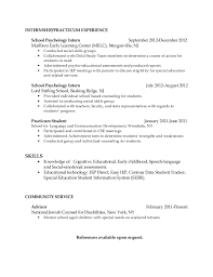 sample school psychologist resumes school psych resume 4