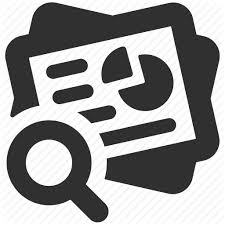 analytics busines report business research market research  analytics busines report business research market research paper research research icon