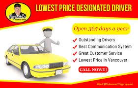 Designated Driver Maple Ridge Captains Dd The Lowest Priced Designated Driver Captains