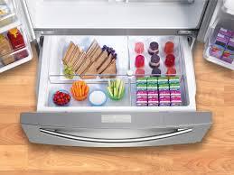 samsung refrigerator drawer.  Samsung FlexZone Drawer Of The Samsung RF4287HARS On Refrigerator 8