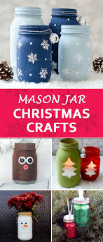 Decorate A Jar For Christmas Creative and Unique Mason Jar Christmas Crafts 46
