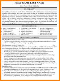10 Human Resource Resume Templates Paige Sivierart