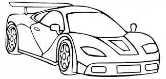 Small Picture Free Printable Race Car Coloring Pages For Kids regarding Race Car