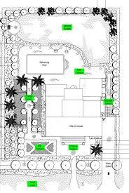 quinta do lago villa landscaped garden plan
