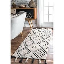moroccan diamond rug diamond tassel runner rug 2 6 x 8 ivory nuloom vibrant moroccan diamond moroccan diamond rug