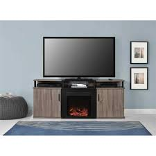 electric fireplace tv stand fireplace tv stand costco mounted whalen a console for tvs up to