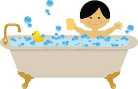 bathtub clipart bubble bath stock ilration of svg free stock