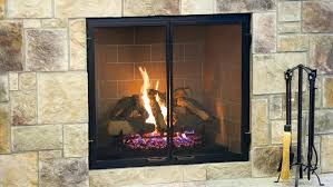 convert gas fireplace to wood burning gas fireplace with stone tile surround convert gas fireplace to