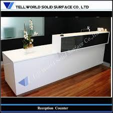 office furniture reception desk counter. Modern Office Furniture Acrylic Solid Surface Reception Front Desk Counter Design TW-MART-090, Mod On En.OFweek.com C