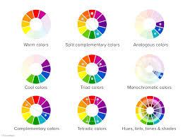 Cool Colors Split Complementary Home Design Color Wheel Literarywondrous  Photos