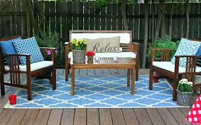 outdoor rug for deck best outdoor rug for deck stunning blue carpet on wooden deck with outdoor rug