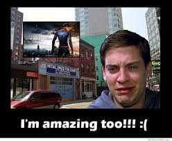How Tobey Maguire Felt After Seeing The Amazing Spiderman ... via Relatably.com