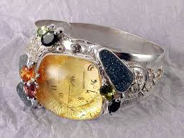 original one of a kind handmade bracelet watch 8394
