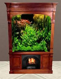 Aquarium Fireplace Bois 21. _bookcase_aquarium_fireplace_bois21_001