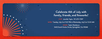patriotic invitations templates free fourth of july party invitations evite com