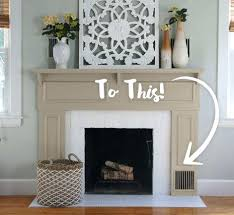 Modern Color Fireplace Paint Colors Kiva Upgrade For  The