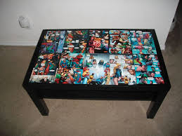 diy comic book desk. Introduction: DC Comic Coffee Table Diy Book Desk 4