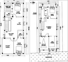 30 x 60 duplex house plans west facing best of 20 40 duplex house plan indian