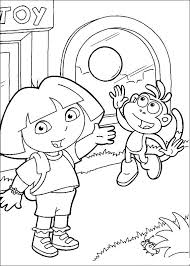 Play Dora The Explorer Coloring Pages Free Printable Coloring Pages