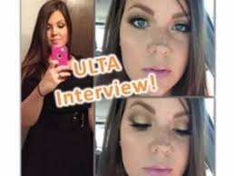ulta interview makeup questions experience laurie jolicoeur you