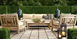 restoration outdoor furniture. Restoration Hardware Outdoor With Teak Furniture There Are Two Directions You Can Go The Grey