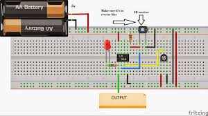make robots in less than 15 minutes circuit diagram for the flame sensor