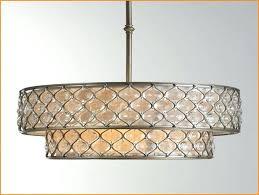large drum shade chandelier eimatco large drum shade chandelier