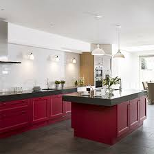 kitchen color ideas red. Red Kitchen Colour Ideas | Kitchens Photo Gallery Beautiful Housetohome.co Color