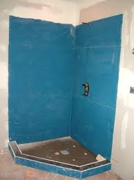 this coated backer board is easy to install and works well on walls and floors