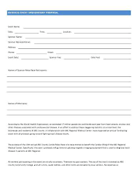 Unsolicited Proposal Template Simple Business Event Sponsorship Proposal Template Free Sample Bid