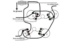 les paul wiring diagram wiring diagram wire capacitors pots pickups guitar electronics on cd
