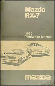 1990 mazda rx 7 wiring diagram manual original rx7 1990 mazda rx 7 repair shop manual original