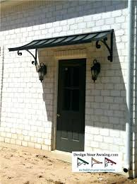 front door awningFront Door Awnings Lowes Front Door Canopy Uk The Concave Metal
