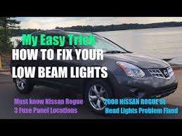 2008 nissan rogue fuse box wiring diagram master • 2008 nissan rogue head lights not working solved head light fuse rh com nissan rogue fuse box chart nissan rogue ac fuse location