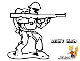 Military Soldier Coloring Pages At Getdrawingscom Free For