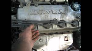 1999 honda civic 4cyl spark plugs wires how to replace walk 1999 honda civic 4cyl spark plugs wires how to replace walk through step