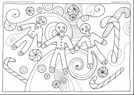 Small Picture outstanding christmas gingerbread man coloring pages with