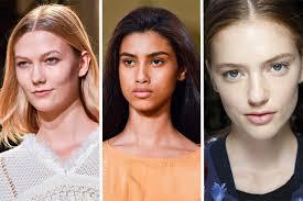 top 7 spring 2017 makeup trends from london milan and paris cur