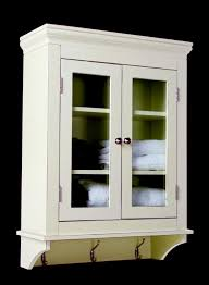 white wooden bathroom furniture. Bathroom. White Wooden Bathroom Wall Storage Cabinets With Glass Doors And  Brown Steel Hooks. White Wooden Bathroom Furniture