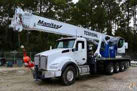 Sold New Manitex Tc50155hl Mounted To 2019 Kenworth T880